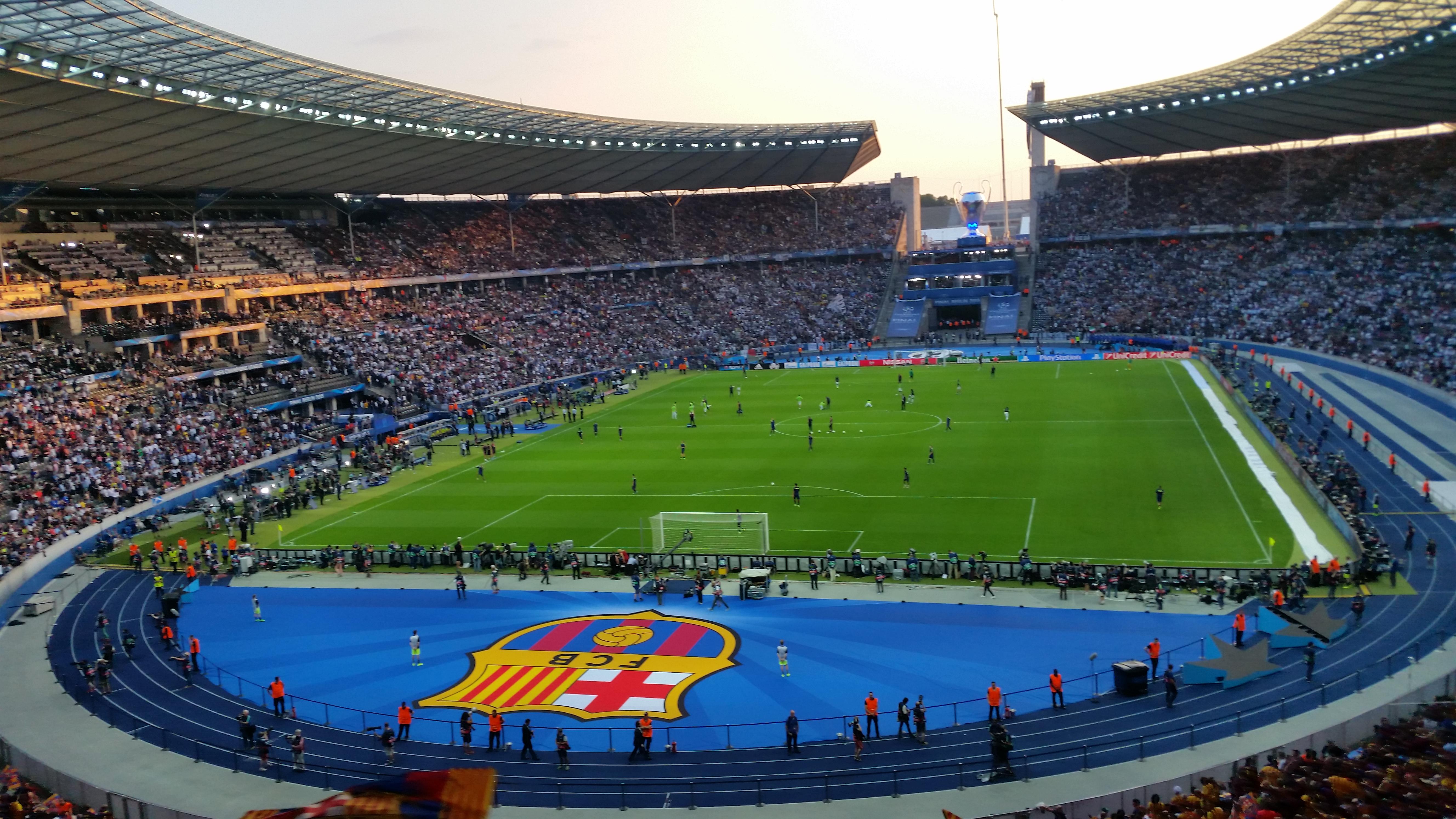 Champions League Gallery: Penya Blaugrana London